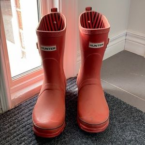 Red Hunter Boots !